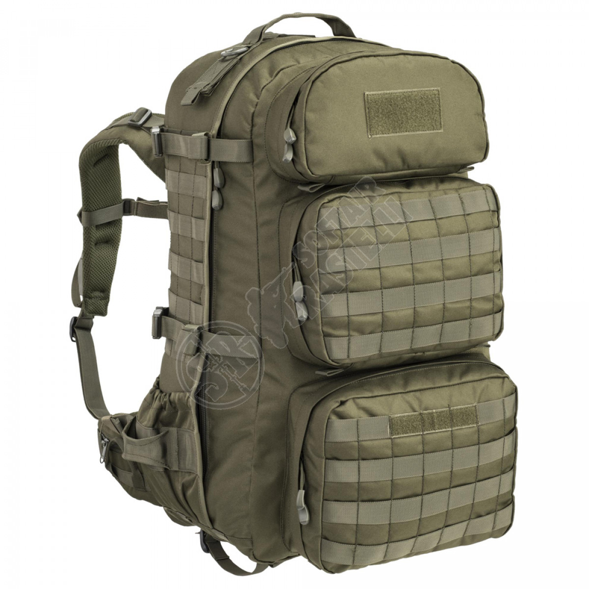 Instantly Pine Allergic  Zaino Ares Backpack da 50 Litri - Olive Drab