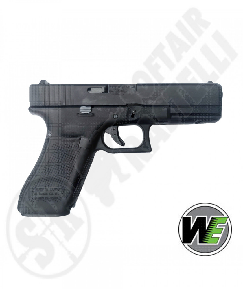 Pistola A Gas Glock G17 Gen 5 - Blowback - Nera - WE (WE-1210)