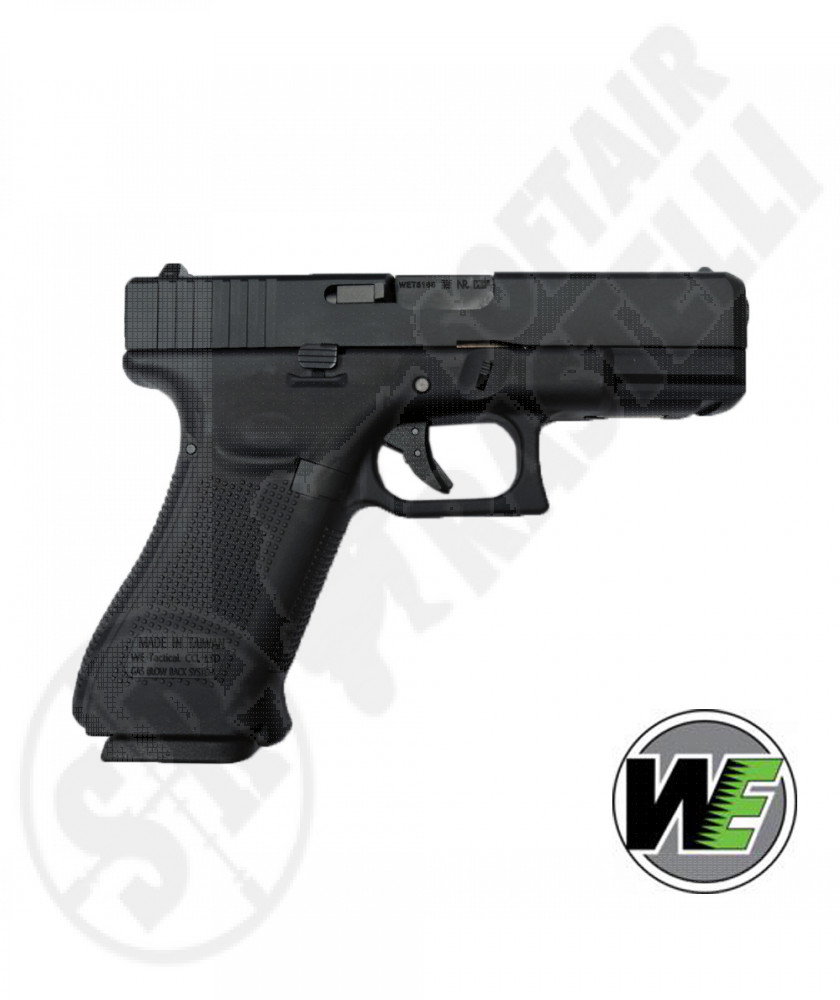 Pistola A Gas Glock G19X Gen 5 - Blowback - Nero - WE (WE-1214)