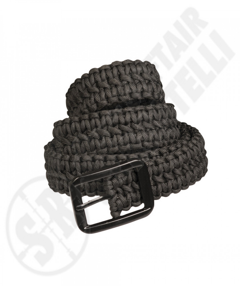 Cinturone In Paracord nero