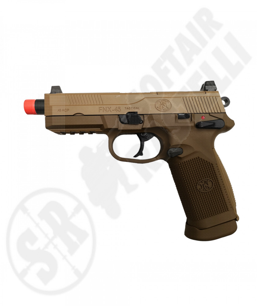 Fnx-45 tactical dark earth a gas