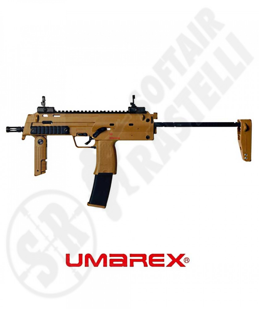 HK MP7 A1 RAL8000 Blow Back Green Gas Desert