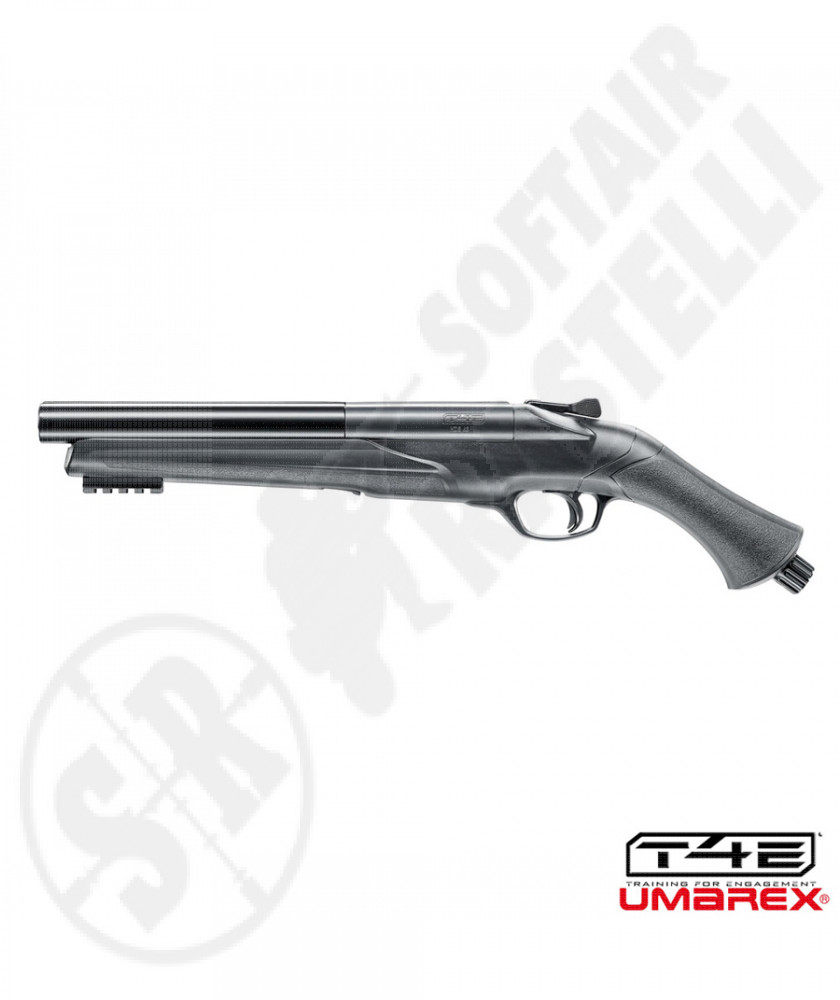 HDS 68 DB Rifle T4E Cal .68 to Co2 Moose Rods - Black - 2 Rounds -