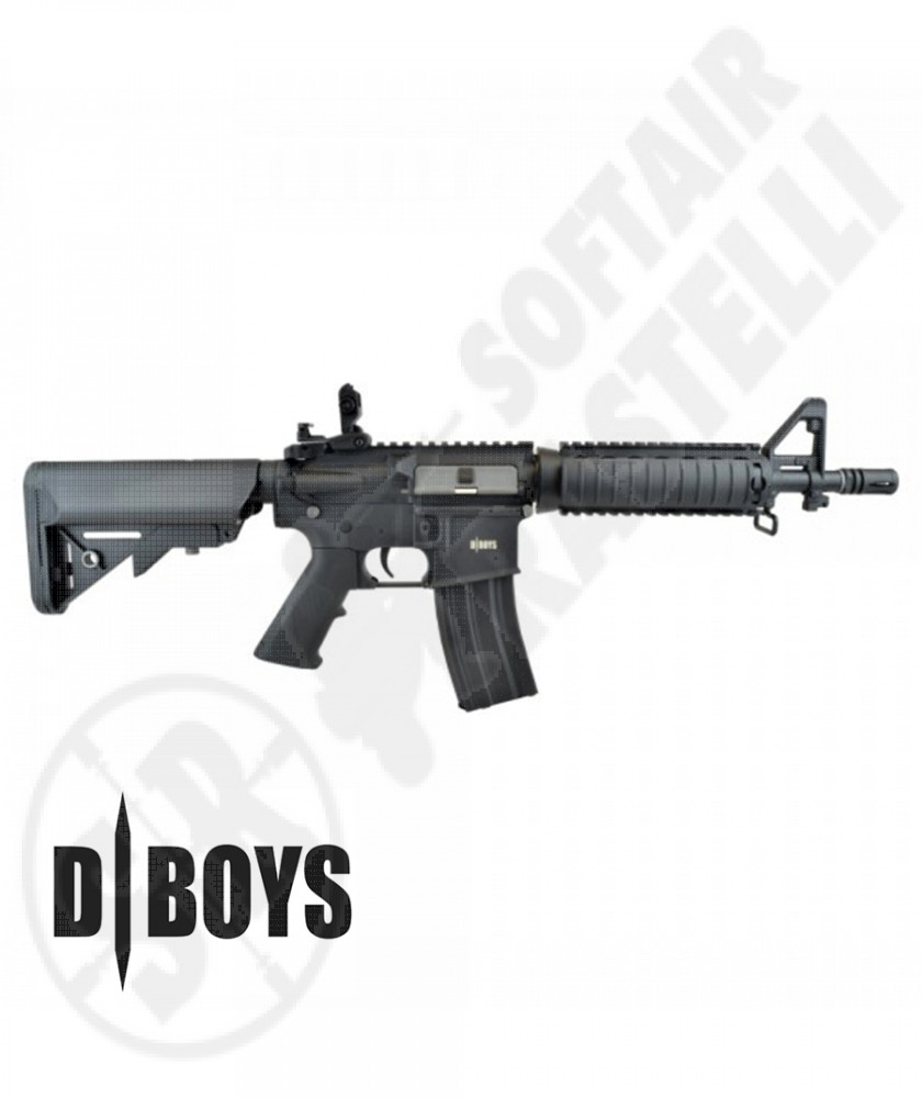 Mitra M4 CQB  RAIL Nero  full metal- D|Boys (4981M)