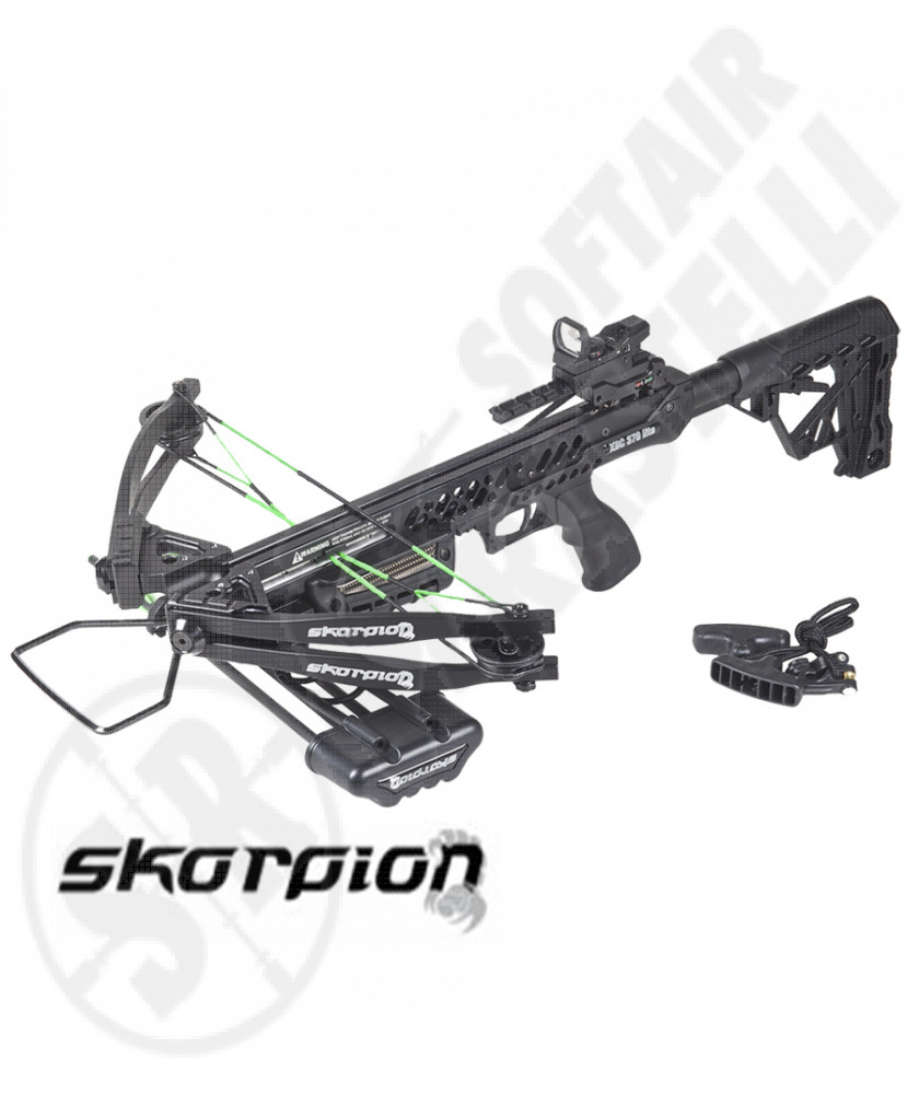 Balestra XBC 370 Lite - 185 Libre - 340 FPS - Full Kit - Skorpion (55I130)