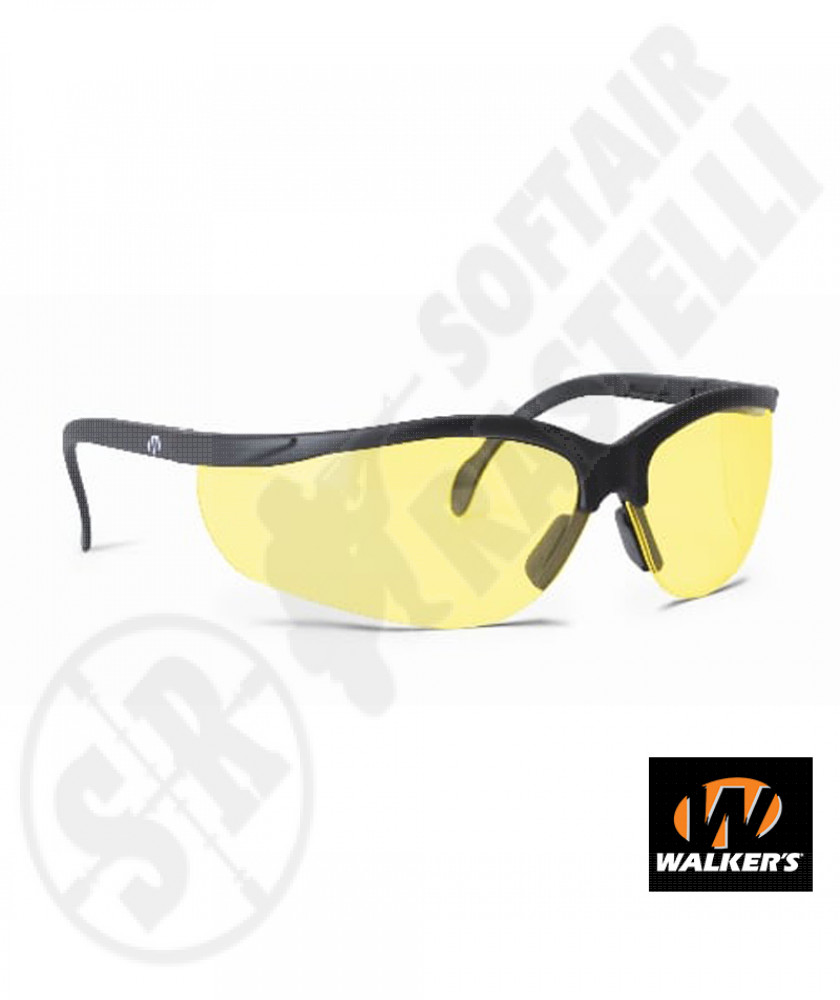 Occhiali Balistici Impact Resistant - Giallo - Walker's (GWP-YLSG) (632163)