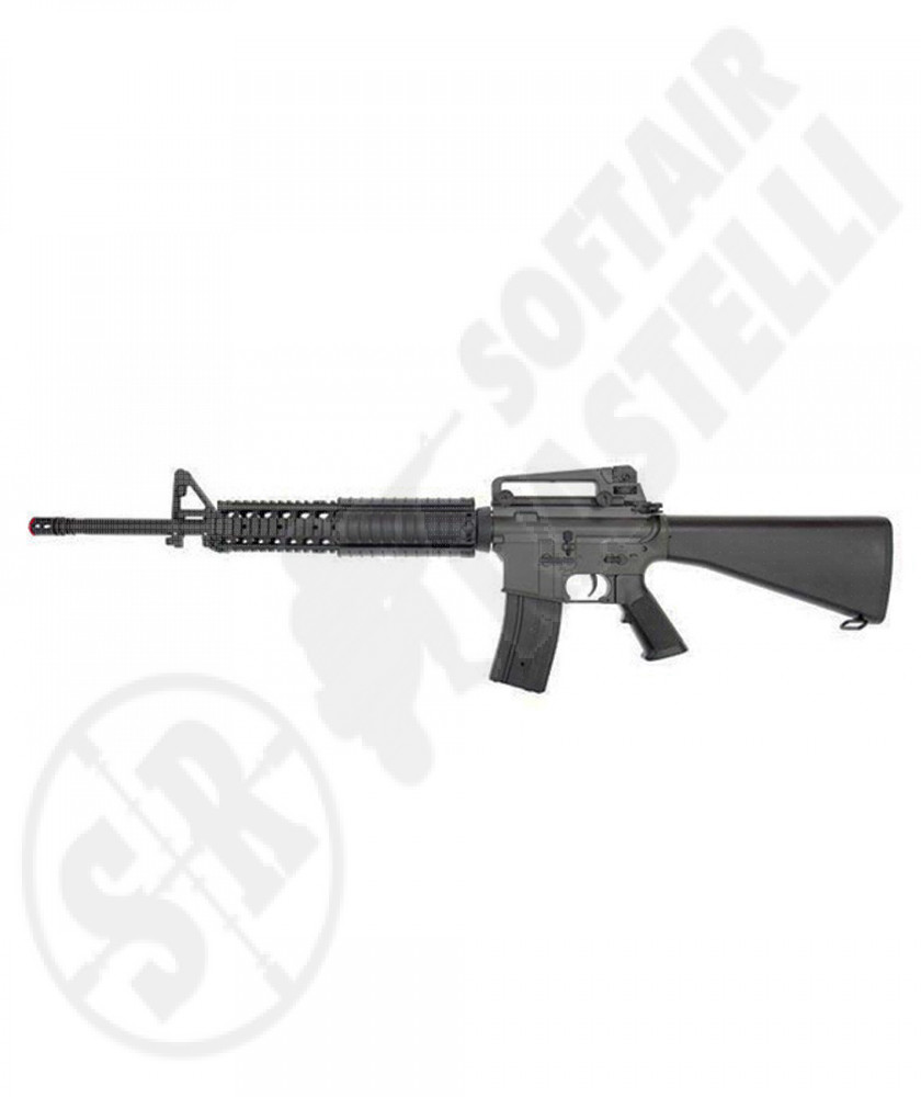 Fucile M16 A4 ris  heavy model commando  (jg)