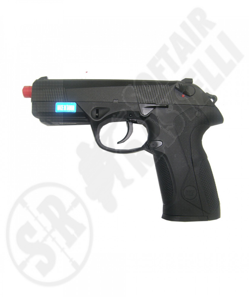 Pistola 3px4 nera full metal a gas