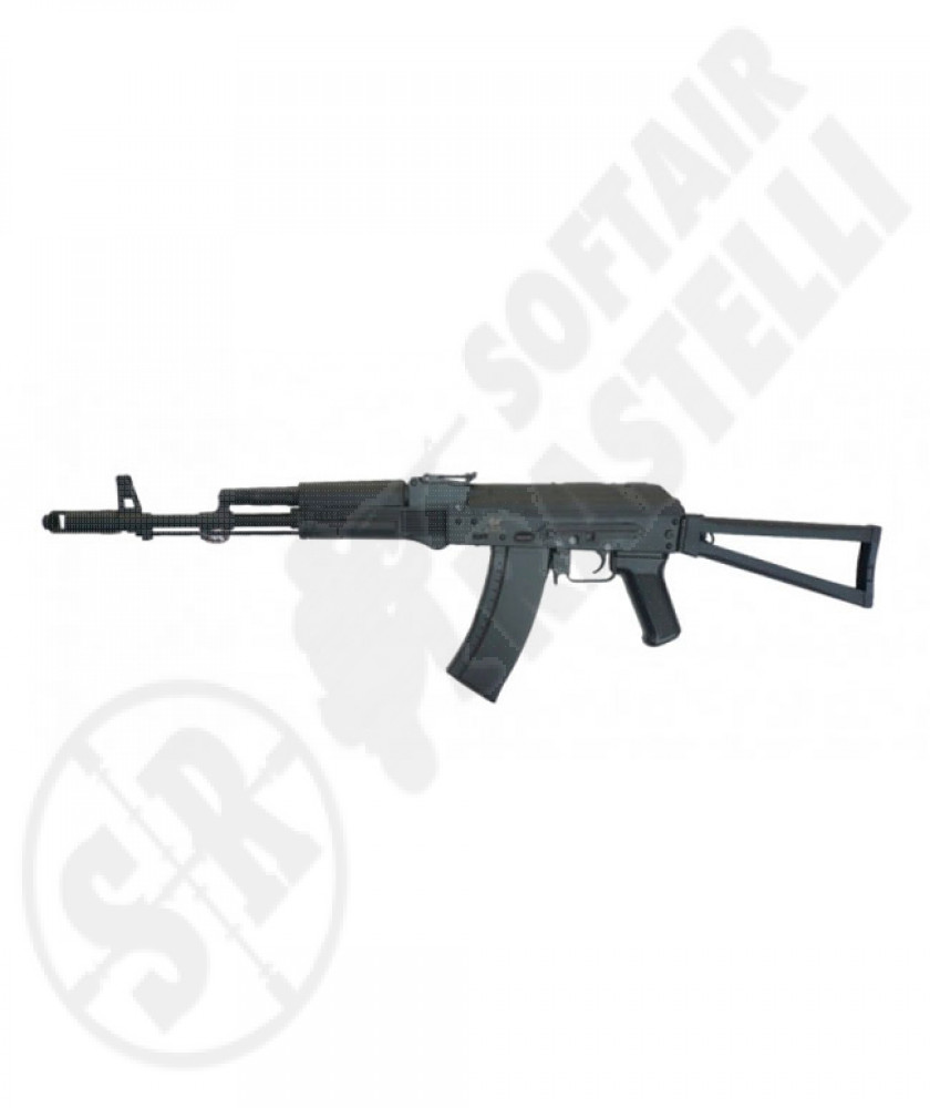Fucile Ak74 tactical full metal nero scarrellante