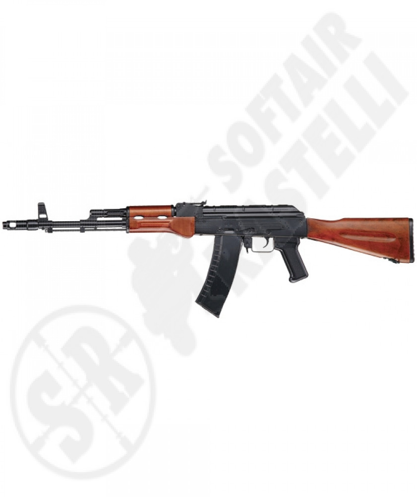 Fucile Ak 74M Wood fixed stock full metal