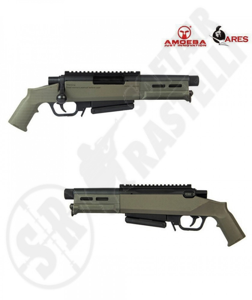 "Fucile Sniper a molla AS-03 Striker -""verde"" - Ares Amoeba (AR-AS03V)"