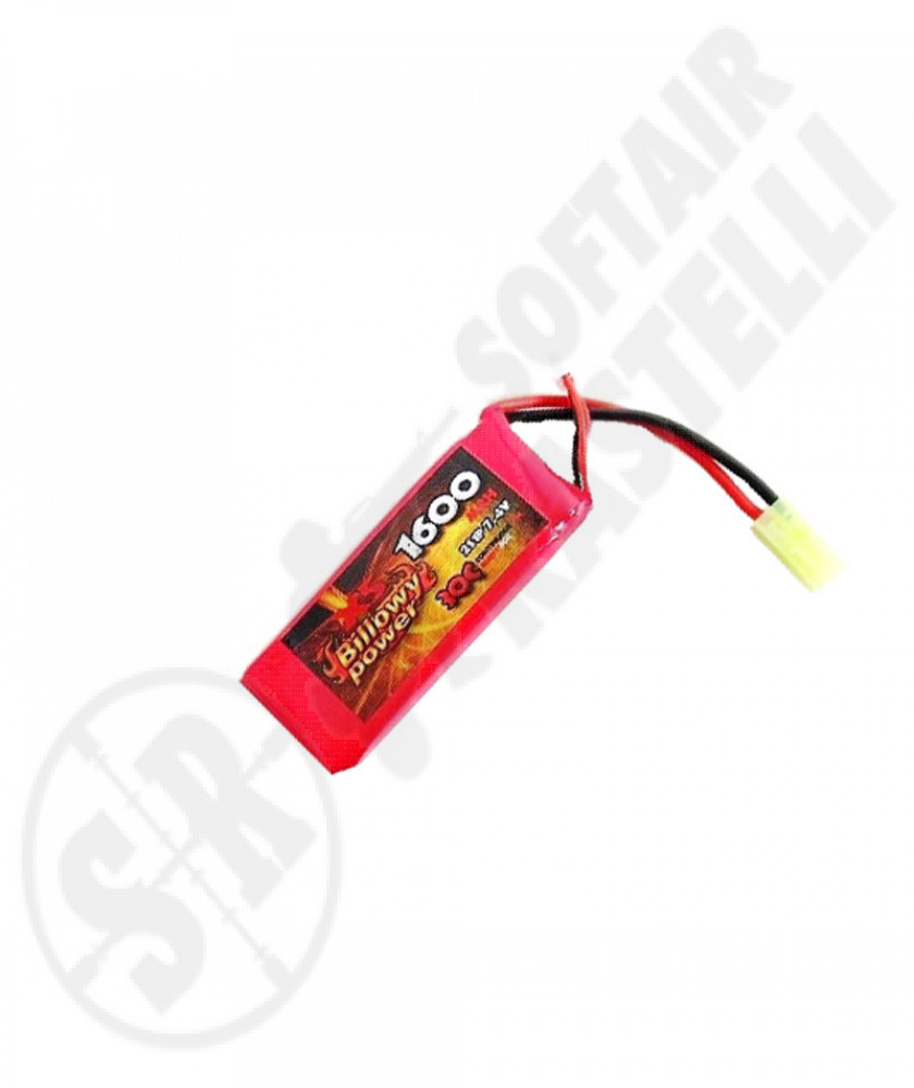 Batteria Lipo 7,4x1600 30c Billowy Power