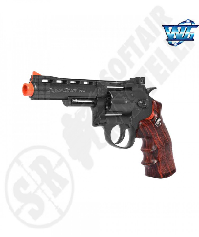 "Revolver a co2 full metal Nera 4"" wg"