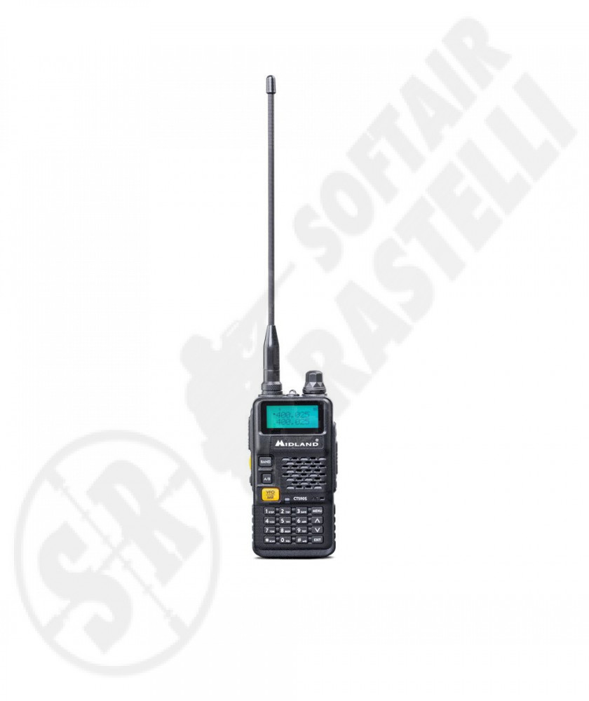 CT590S transceiver - Dual Band - FM - Torch - Midland (C1354)