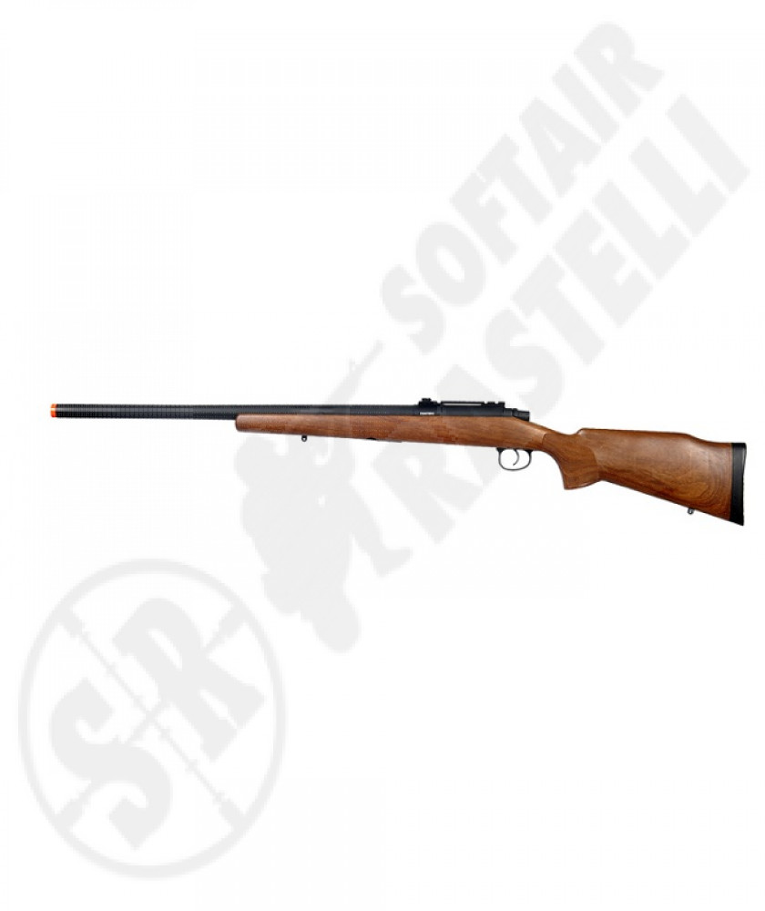 Carabina a molla VSR M70 wood (golden bow)