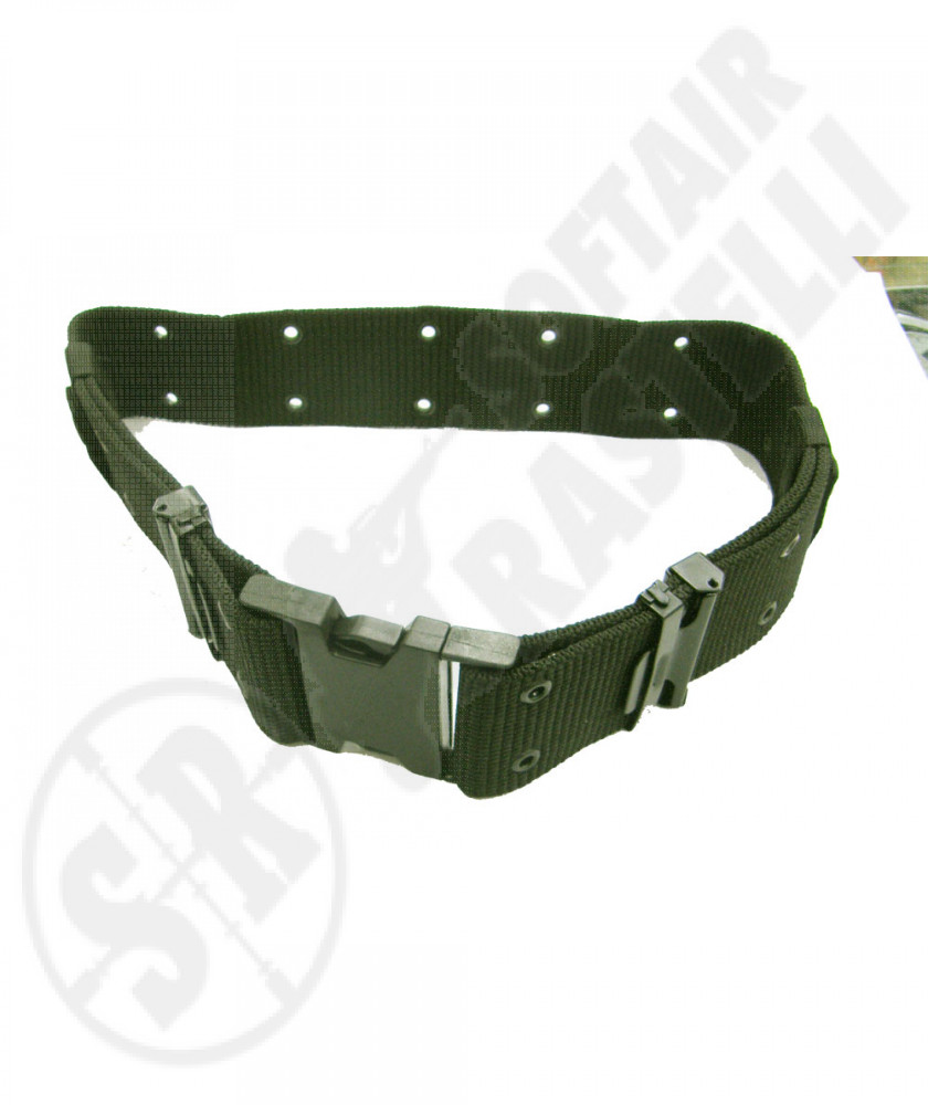 Cinturone porta accessori in cordura Verde