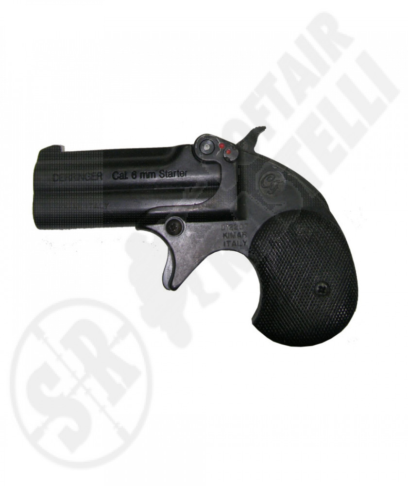 Derringer a salve calibro 6 mm NERA