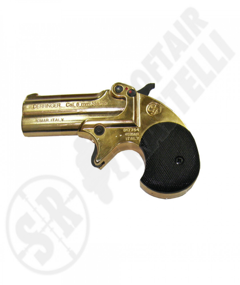 Pistola a salve Derringer calibro 6 mm GOLD