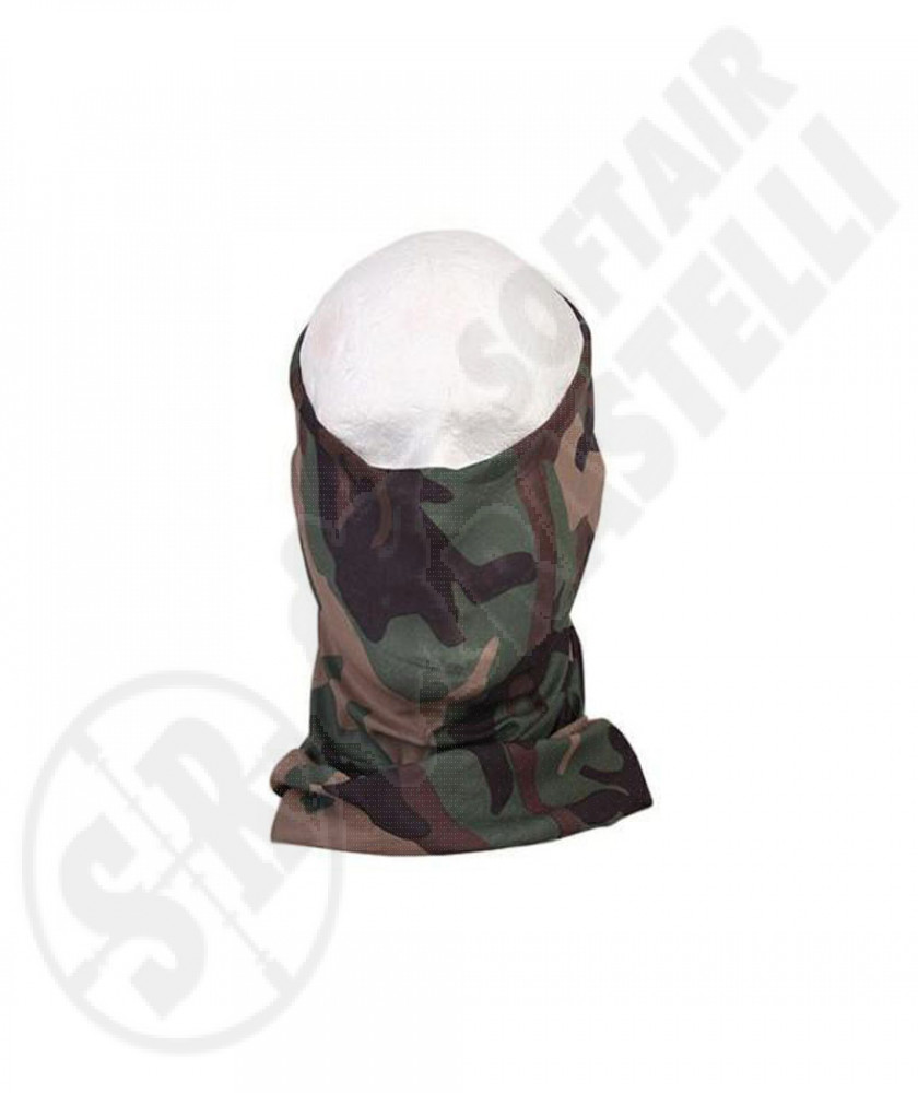 FAST DRY MULTIFUNCTIONAL HOOD/MASK WOODLAND EMERSON