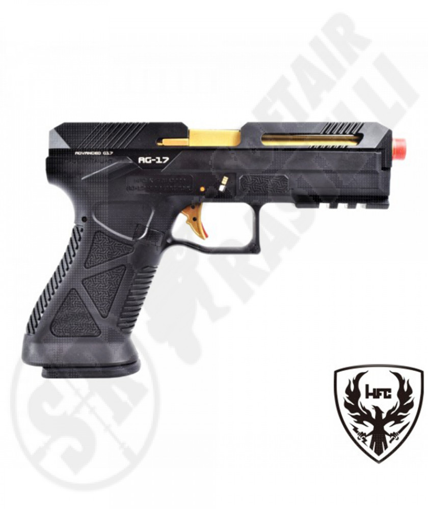 Pistola G17 Advanced - Green Gas - 26 BBs  - Metal/Polimero - HFC (HG 182B)
