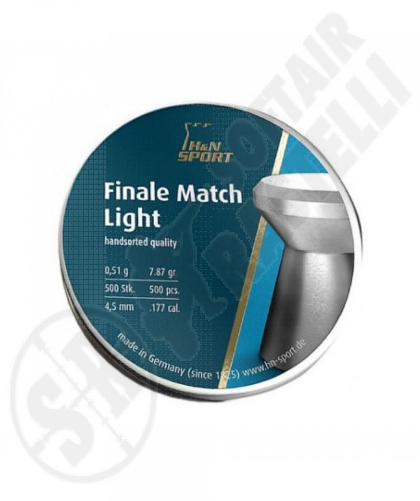 Piombino  4,5 Finale Match Light 0.51 gr H&N