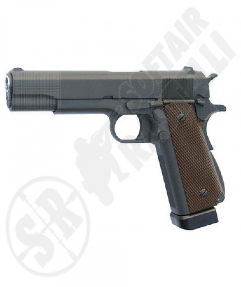 Pistola a co2 Colt m1911a1 professional scarrellante full metal