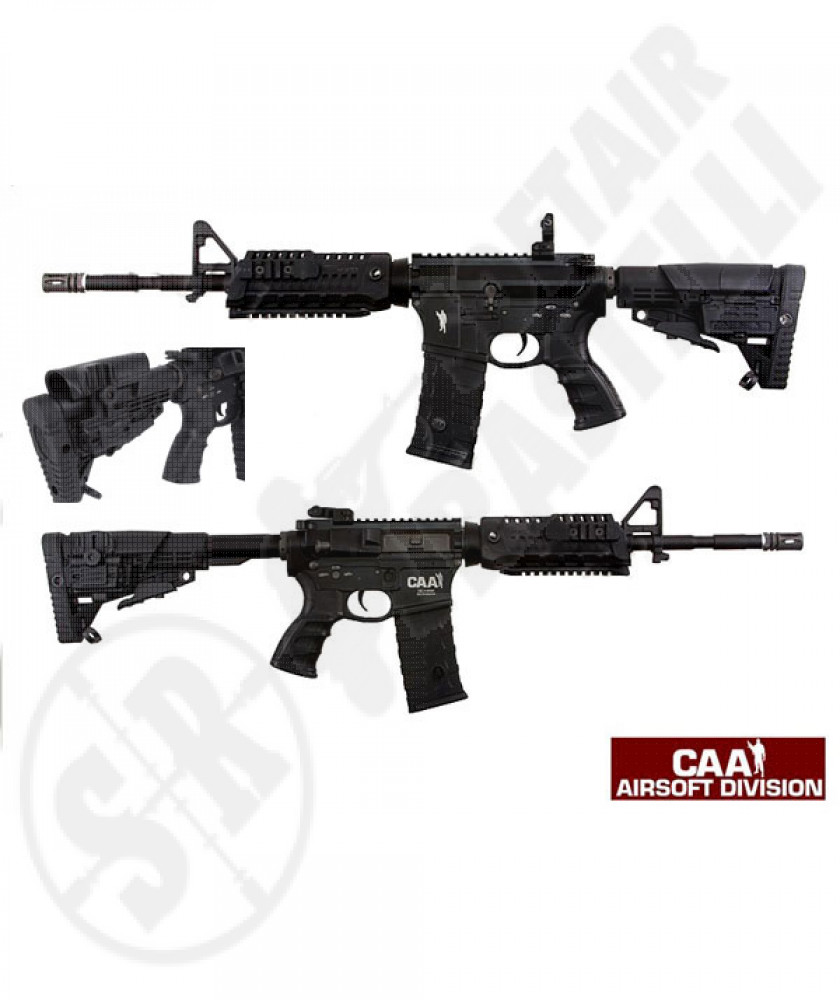 M4 carabine tactical ris black full metal caa ( by king arms)