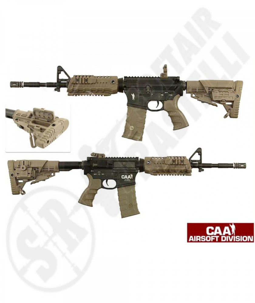 Fucile elettrico M4 carabine tactical ris desert full metal Caa ( by king arms)