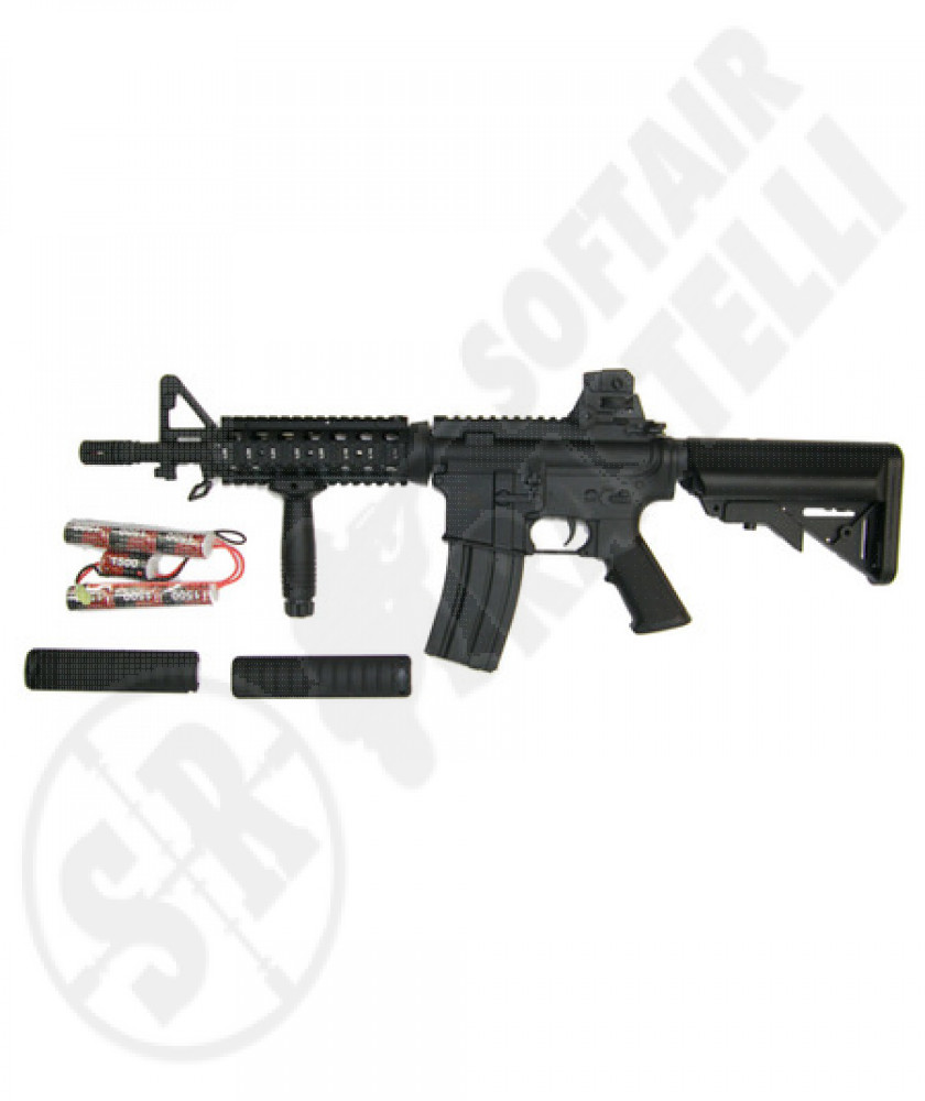 M4 CQB RIS  full metal  (a&k)