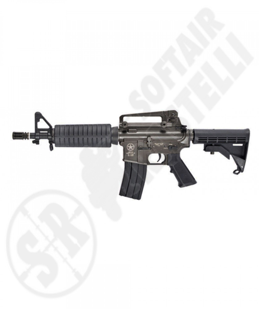 M4 lone star border patrol sbr (full metal) evolution air soft