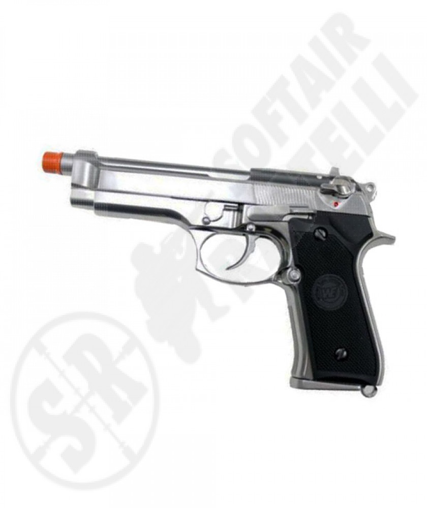 M92s matte chrome full metal a gas we