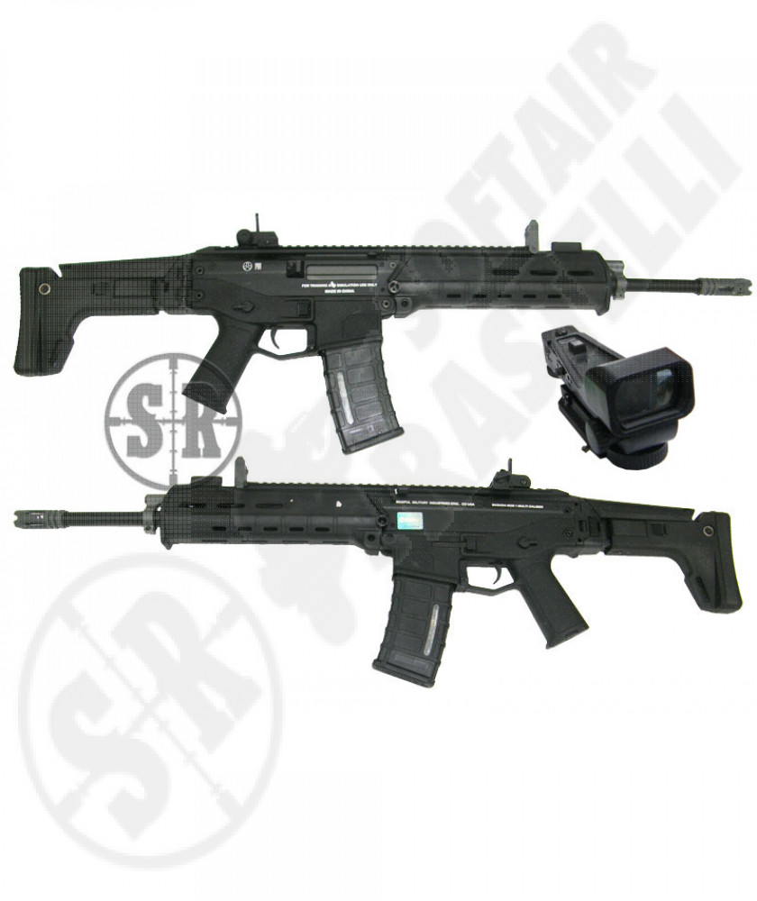 Masada ACR nero ( magpul) full metal con red dot 22x30