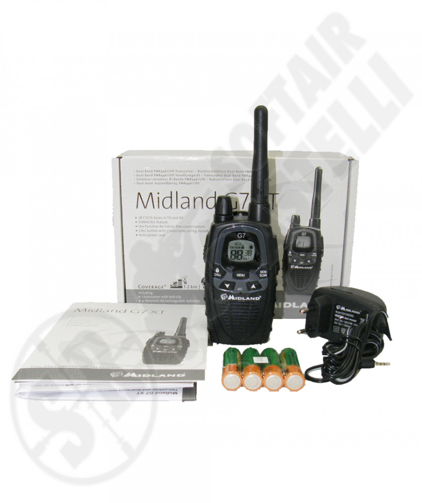 Radio  Midland  g7 XT singola new design