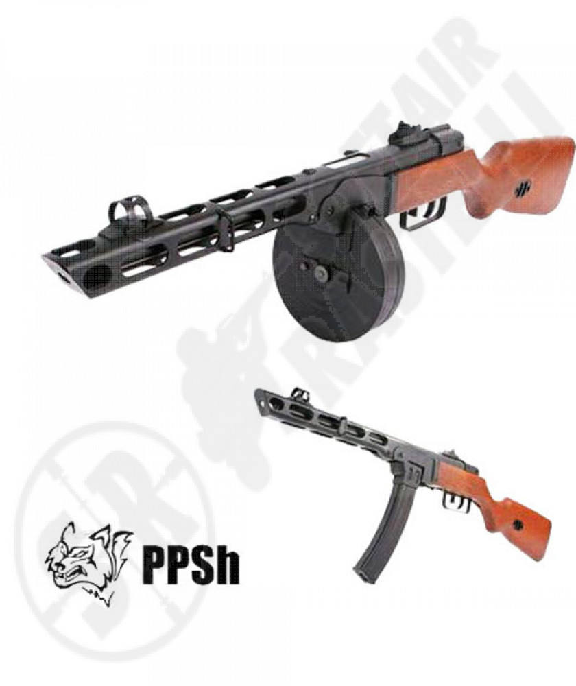 Mitra PPSH-41 full metal blowback elettrico snow wolf