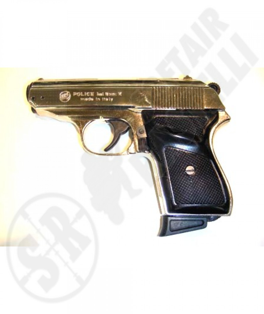 Pistola a salve New Police nikel 8 mm