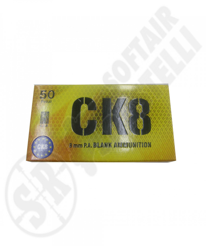 Ricariche A Salve Calibro 8 Mm (CK)