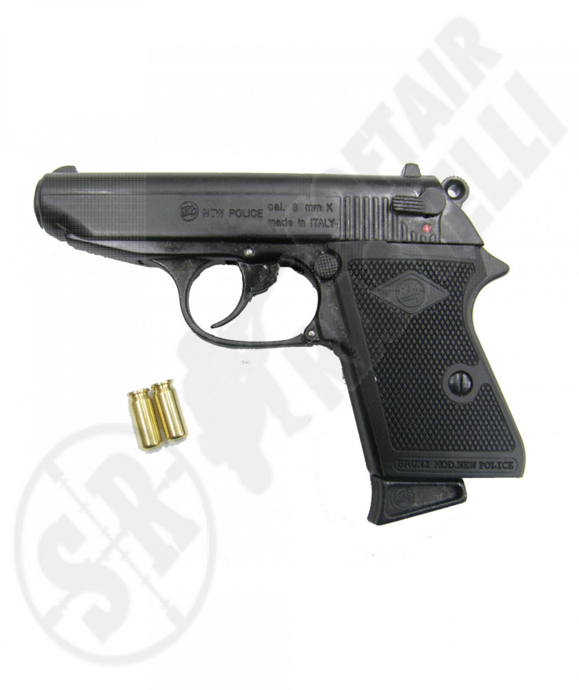 Pistola a salve New Police a calibro 8 mm
