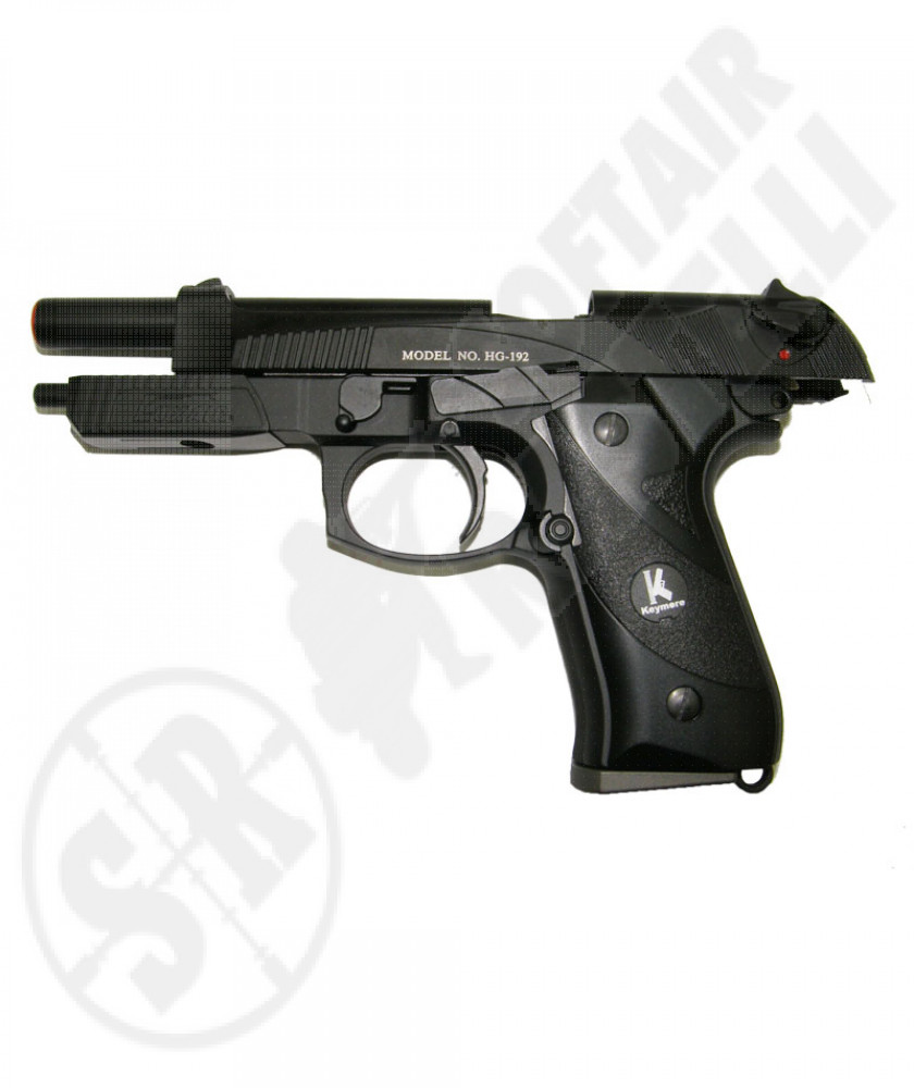Beretta scarrllante full metal a gas luxair