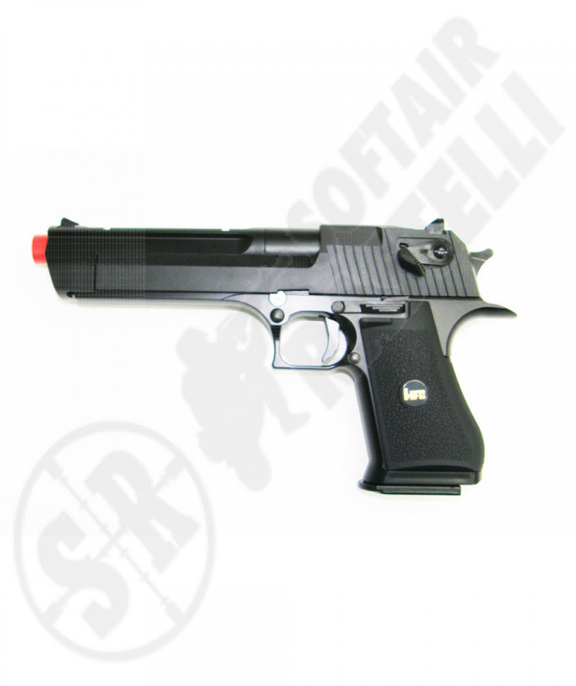 Desert eagle nera a gas