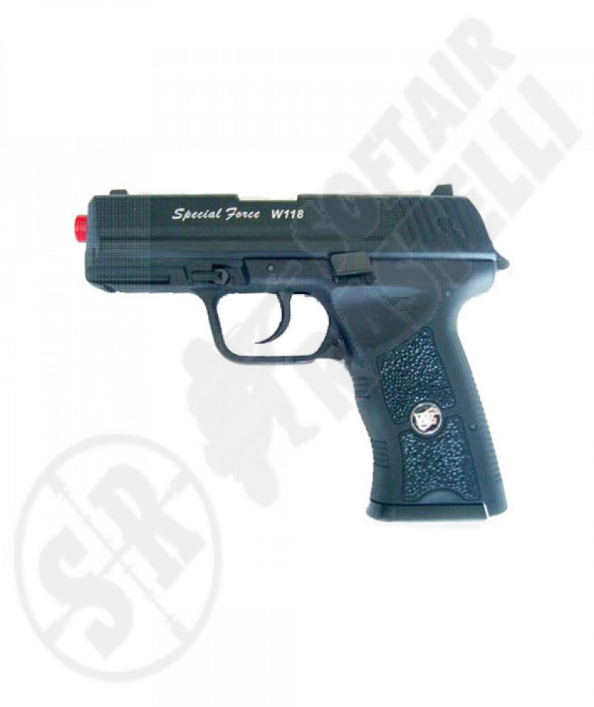 Pistola a co2 scarrellante glock g118 special force