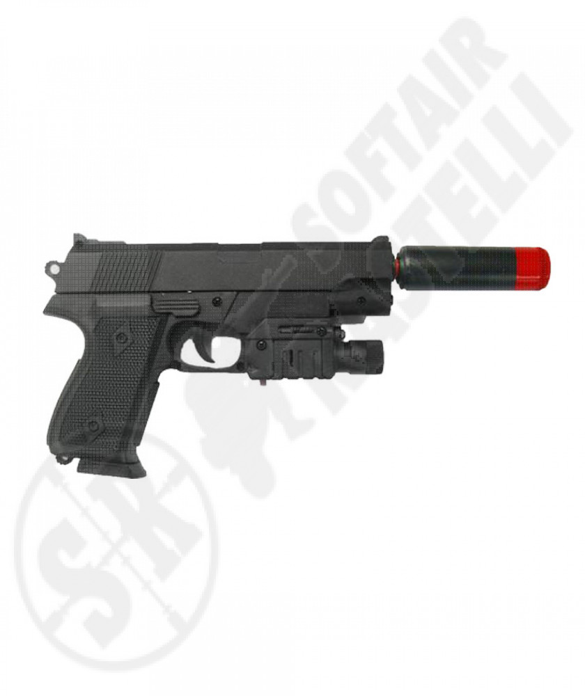Pistola a molla S-08 Deformed