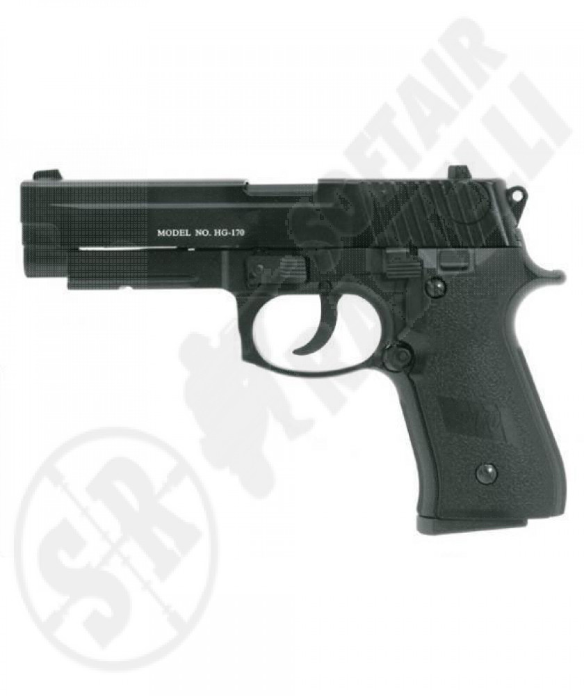 Pistola sig p170 gas scarrellante full metal