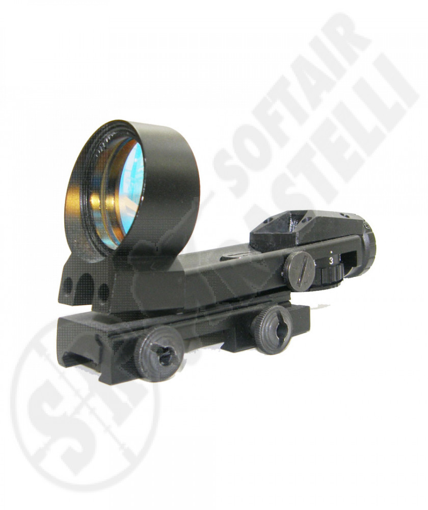 Red Dot 1x40 olografato 4 diversi mirini luminoso