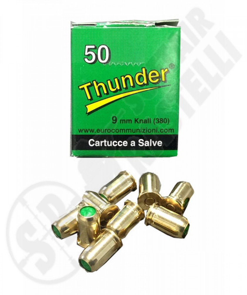 Ricariche a salve 380 mm Thunder