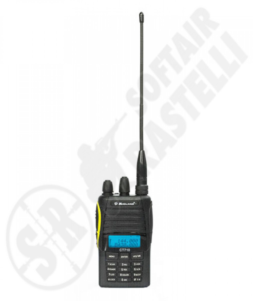 Ricetramittente CT710 dual band midland