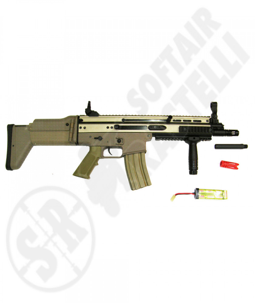 Scar L cqc full metal tan