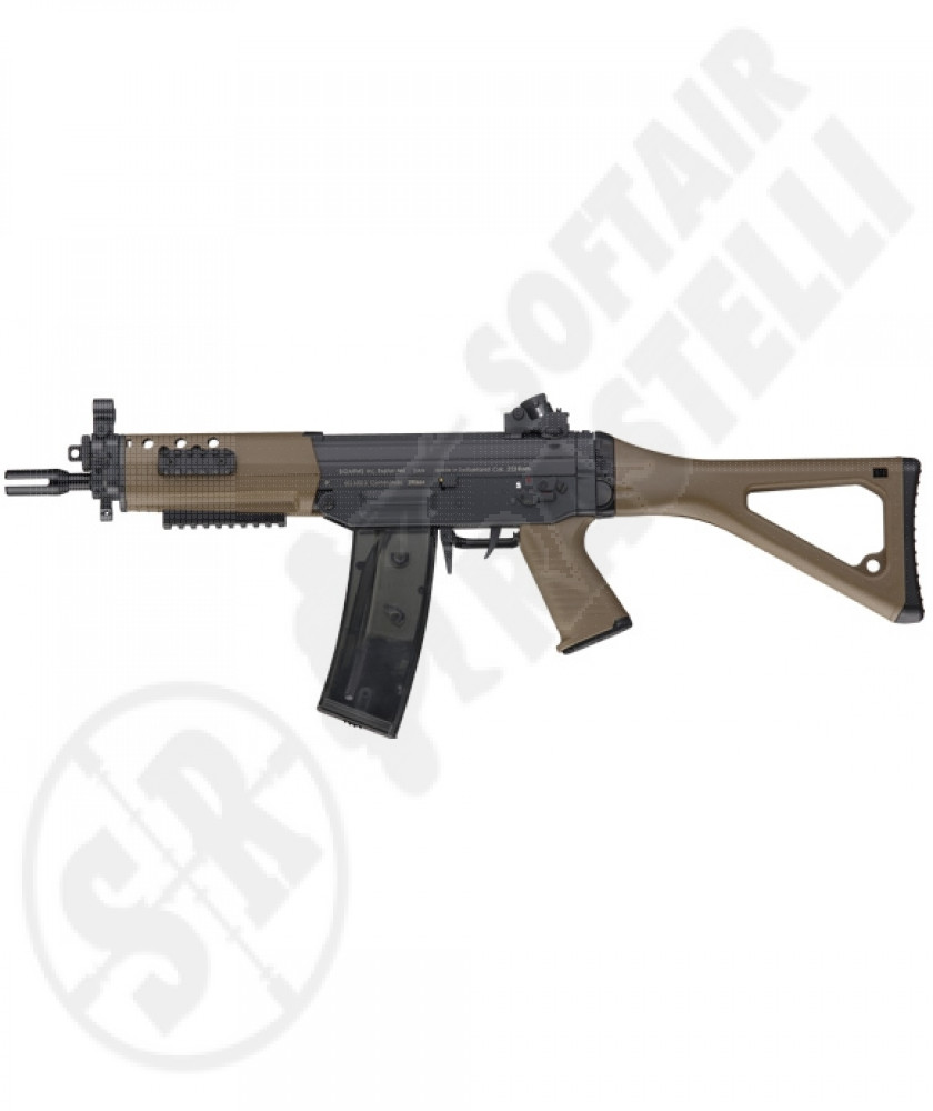 Fucile SG-552 tan commando   full metal (ics)