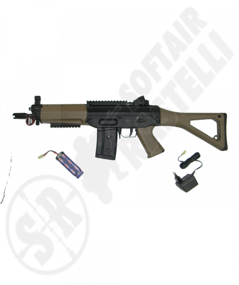 Fucile SIG 552 new version con slitta weaver tan