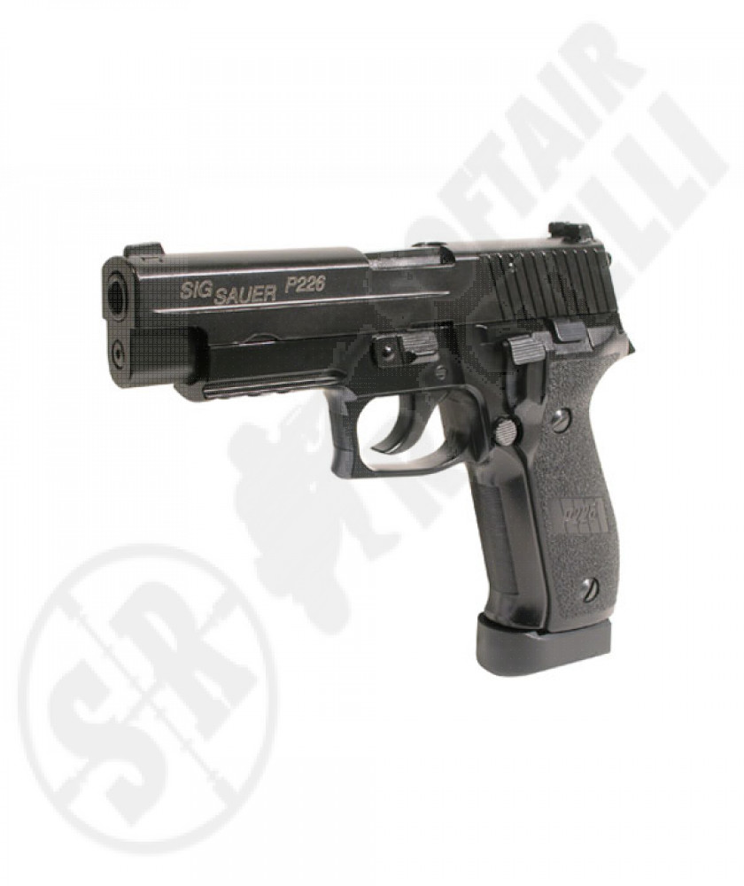 Sig p226 e2 co2 full metal scarrellante