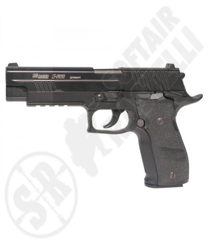 Pistola X-Five P226 a CO2 - Nera - Scarrellante - Full-Metal - 27 BBs - Sig Sauer by CyberGun (280514)